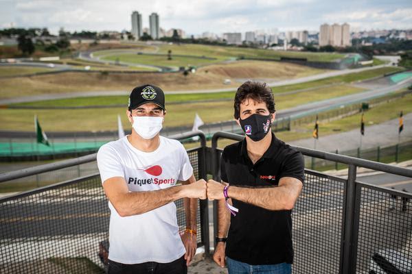 Pilotos estarão juntos no mesmo time na próxima temporada. Foto: José Mário Dias/Divulgação