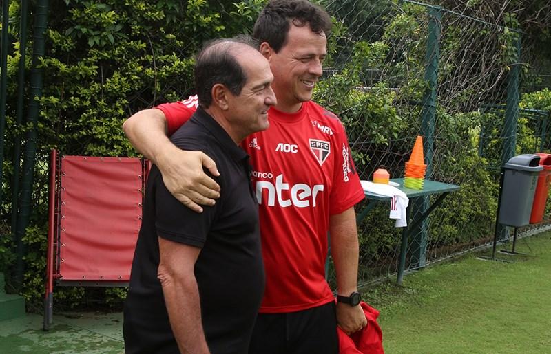 Casares afirmou que Muricy será coordenador de futebol no Tricolor. Foto: Rubens Chiri / saopaulofc.net