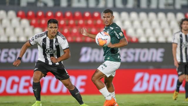 Equipe alviverde empatou o jogo em Assunção por 1 a 1. Foto: Divulgação/CONMEBOL
