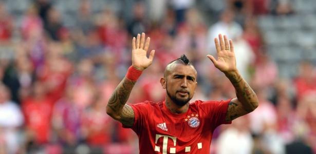 De qualquer forma, Vidal é desfalque do Bayern para o duelo desta terça-feira contra o Bayer Leverkusen