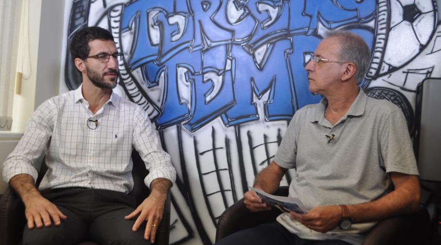 Dr. Roberto Nahon, coordenador de ações médicas do Comitê Olímpico Brasileiro.