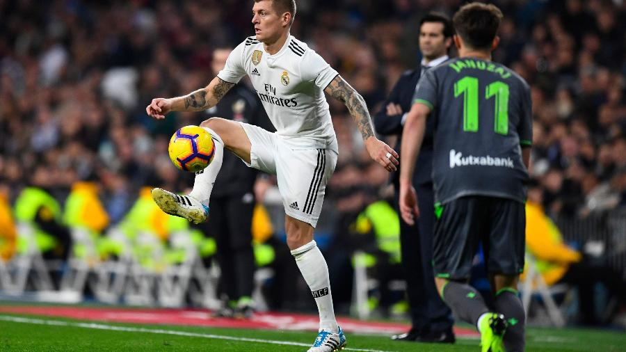 Kroos (foto), Bale e Isco são, segundo jornal, alvos do PSG neste final de temporada
