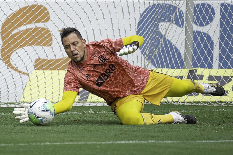Contrato de Diego Alves com o Mengão se encerra no final de dezembro. Foto: Alexandre Vidal/Flamengo