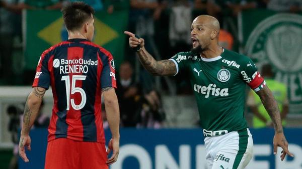 Felipe Melo tem sido um dos destaques do Palmeiras na temporada. Foto: Marcello Zambrana/AGIF/Via UOL