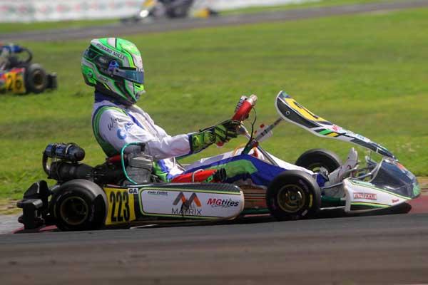 Piloto estará em ação na competição que acontece em Birigui (SP). Foto: Cris Reis / Planet Kart Images/Divulgação