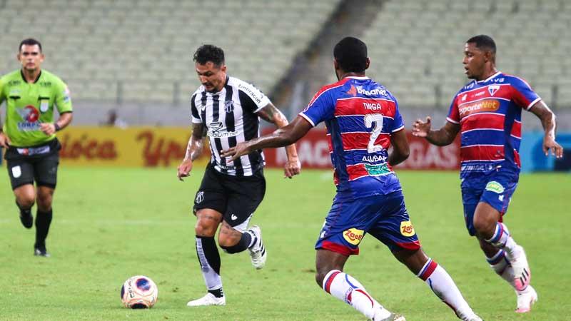 No primeiro turno o Vozão foi o vitorioso. Foto: Felipe Santos/cearasc.com