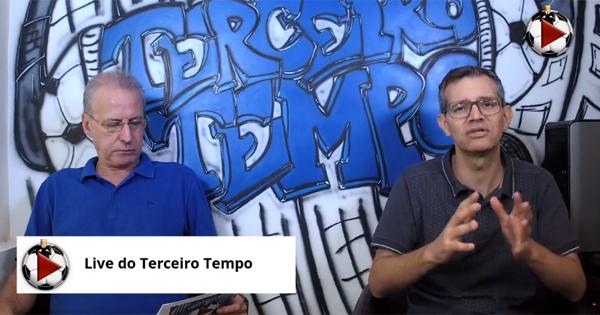 João Antonio e Frank Fortes debateram os confrontos da próxima fase. Foto: Reprodução