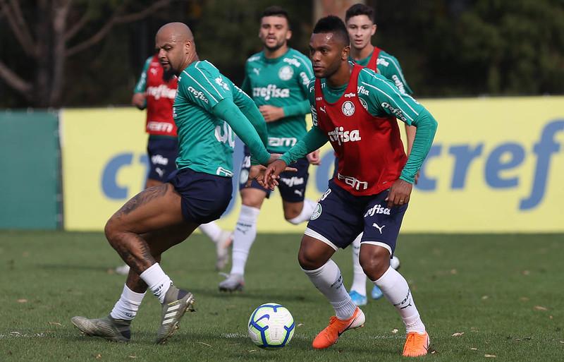 Borja estava emprestado ao Junior Barranquilla e agora volta ao Verdão. Foto: Cesar Greco