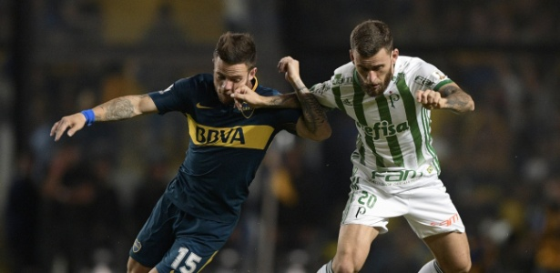 Boca Juniors x Palmeiras da primeira fase também teve arbitragem do chileno Roberto Tobar. Foto: Juan Mabromata/AFP Photo