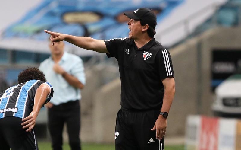 Treinador do Tricolor Paulista destacou o bom jogo feito por sua equipe apesar da derrota. Foto: Rubens Chiri/saopaulofc.net