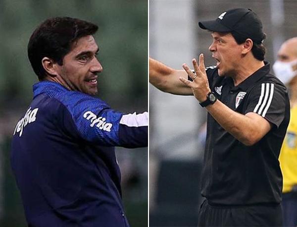 Fotos: Cesar Greco/Ag. Palmeiras e Rubens Chiri/SPFC