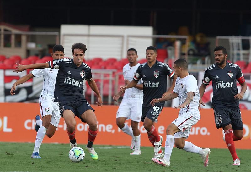 Tricolor Paulista lidera o campeonato com 53 pontos. Foto: Rubens Chiri/saopaulofc.net