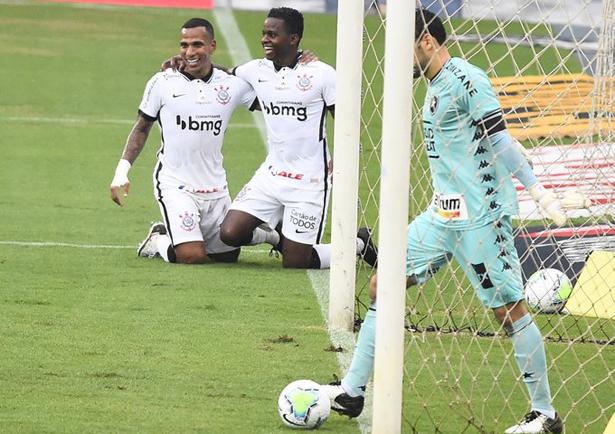 Equipe paulista abriu o placar na primeira etapa. Foto: Divulgação/Corinthians