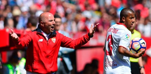Sampaoli é o atual técnico do Sevilla, da Espanha
