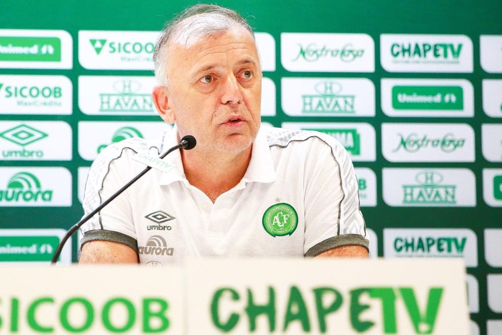 Paulo Ricardo Magro ocupava o cargo desde agosto do ano passado. Foto: Marcio Cunha/Chapecoense
