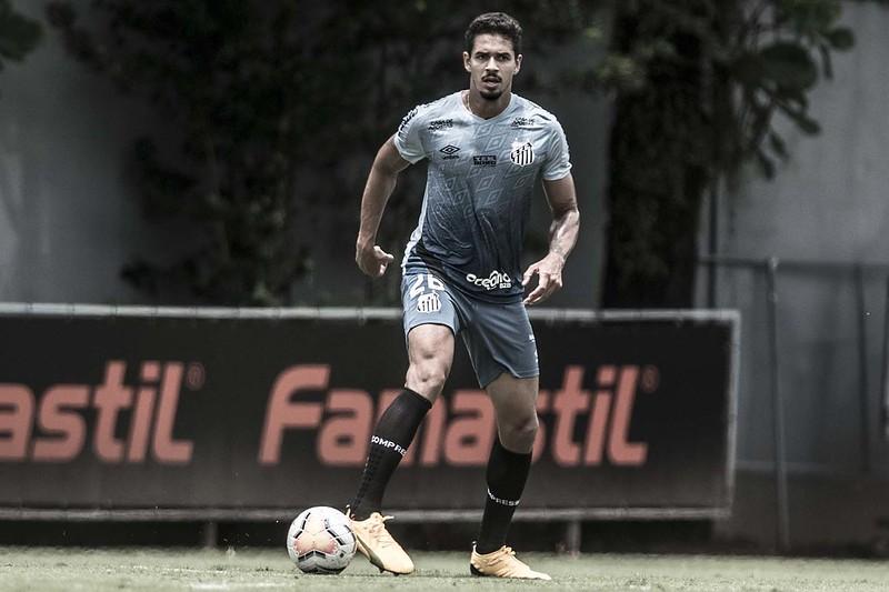 Portugueses desembolsarão cerca de R$ 41 milhões pelo zagueiro do Peixe. Foto: Ivan Storti/Santos FC