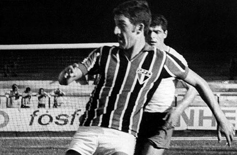 O brilhante atleta marcou época no Tricolor Paulista. Foto: Reprodução