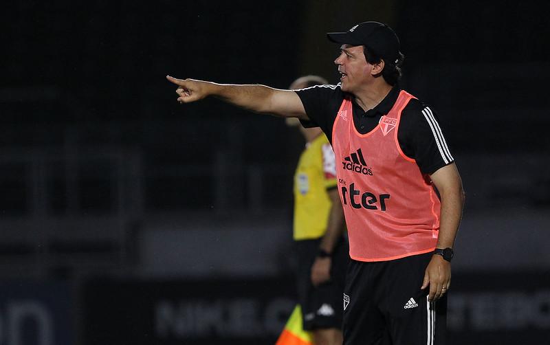 Técnico Tricolor falou que jogo contra o Bragantino foi o pior da equipe sob seu comando. Foto: Rubens Chiri/saopaulofc.net