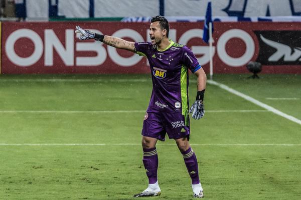 Fábio estará na meta celeste nesta sexta-feira. Foto: Gustavo Aleixo/Cruzeiro