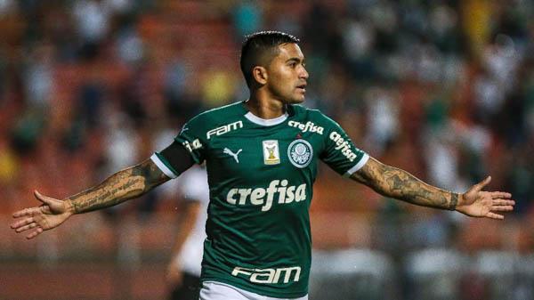 Atacante volta a ser decisivo para o Palmeiras. Foto: Ale Cabral/AGIF/Via UOL