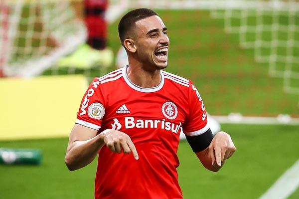 Thiago Galhardo retorna à equipe colorada. Foto: Ricardo Duarte/Inter