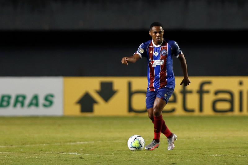 Elias disputou apenas 16 jogos com a camisa do tricolor. Fotos Felipe Oliveira / EC Bahia