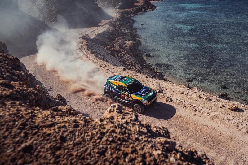 Brasileiros margearam o Mar Vermelho na décima etapa. Foto: MCH Photography