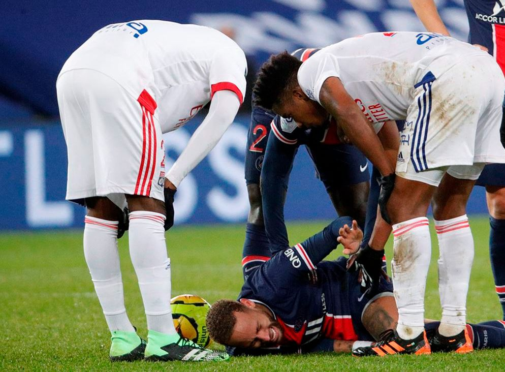 Atacante do PSG ficou afastado dos gramados por exatamente um mês. Foto: C.Gavelle/PSG