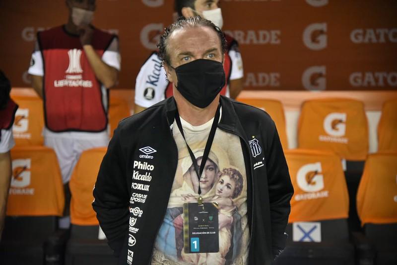 Treinador santista destacou as dificuldades superadas para chegar à final do torneio continental. Foto: Ivan Storti/Santos FC
