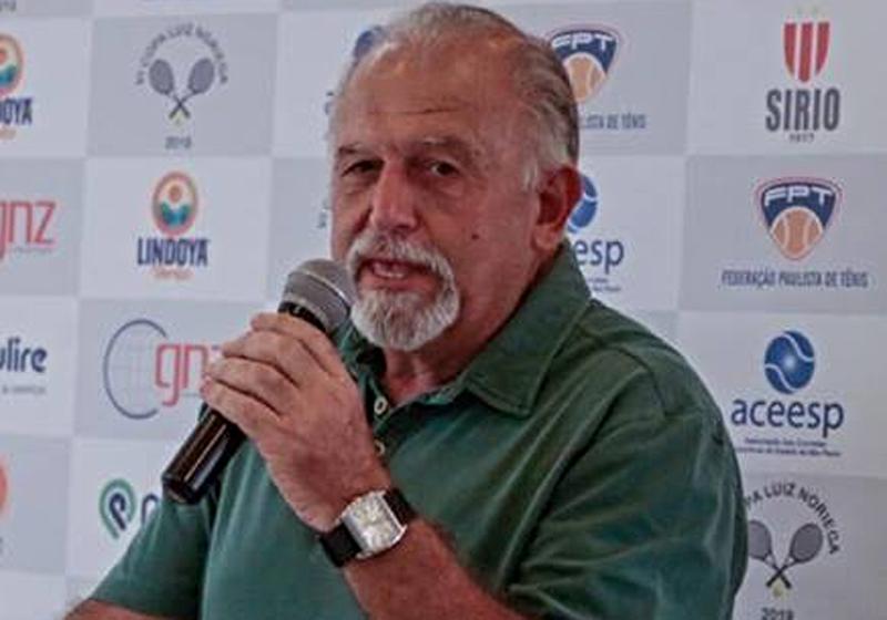 Nelson Nastás dirigiu a Confederação entre 1994 e 2004. Foto: Facebook/Arquivo Pessoal