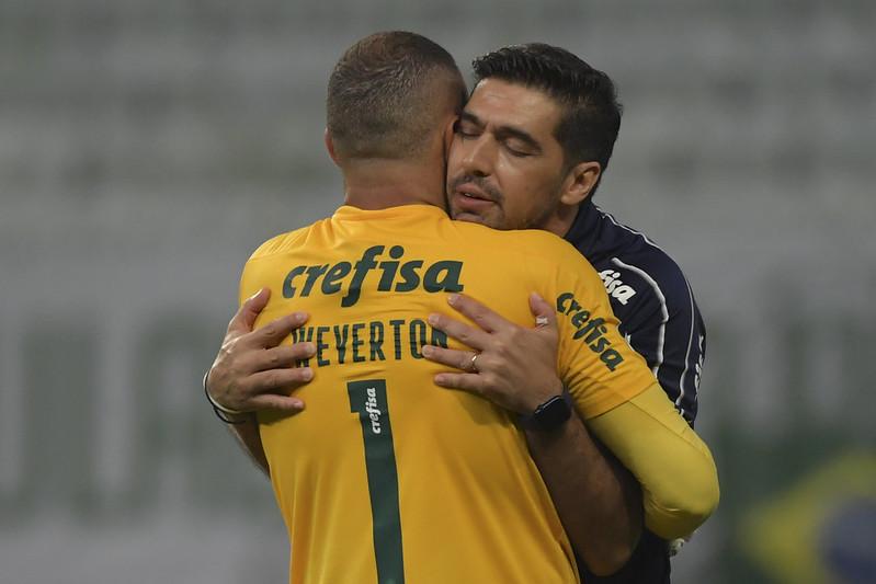 Goleiro alviverde destacou a felicidade de ser citado como um dos melhores goleiros do país. Foto: Staff Images/Conmebol