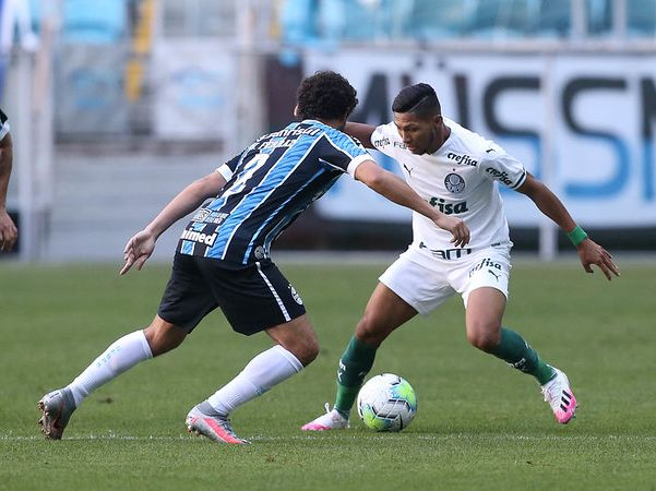 Palmeiras e Grêmio farão prévia da final da Copa do Brasil. Foto: Cesar Greco