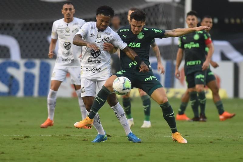 Verdão e Peixe fazem a final da Libertadores no dia 30. Foto: Ivan Storti/Santos FC