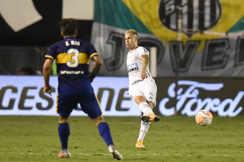 Jobson se lesionou em treinamento no CT Rei Pelé. Foto: Ivan Storti/Santos FC
