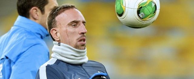 Recentemente Ribéry anunciou que não pretende mais atuar pela seleção francesa