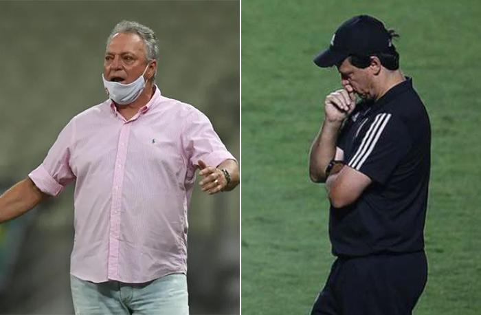 Fotos: Ricardo Duarte/Internacional e Rubens Chiri/SPFC