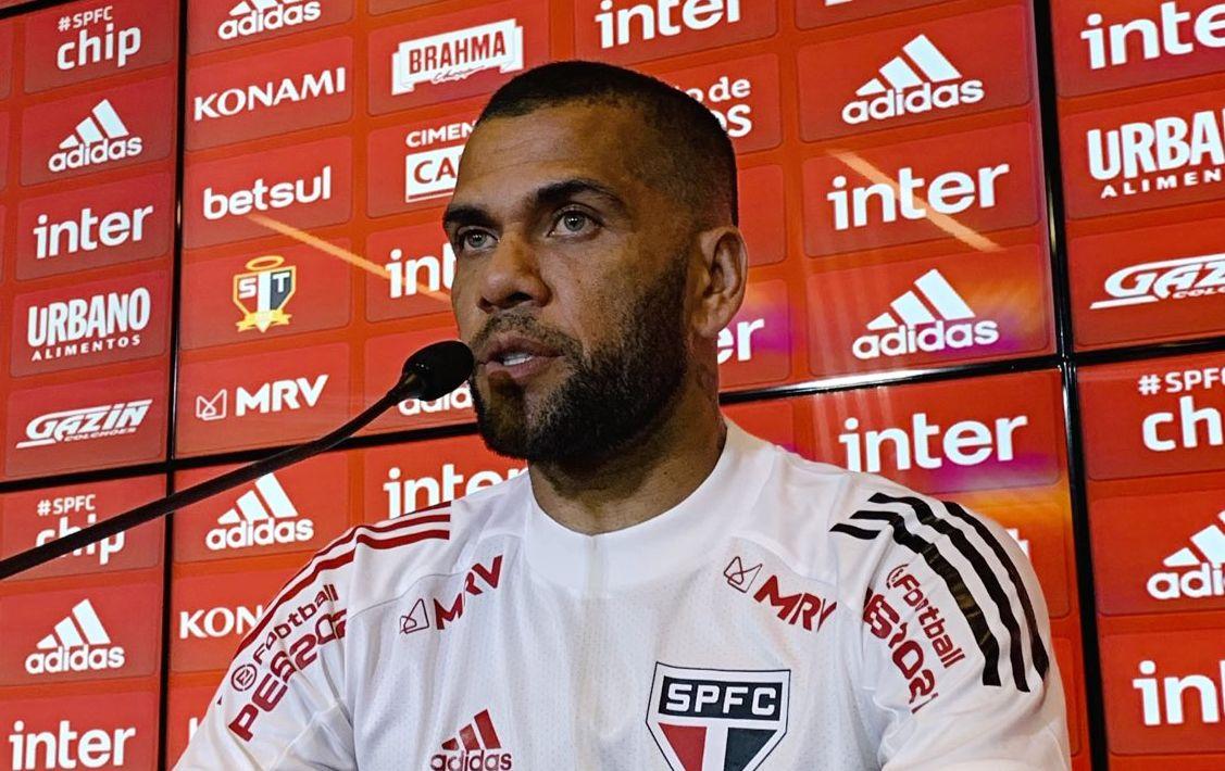 Capitão da equipe reconheceu o futebol ruim no Tricolor. Foto: Twitter/São Paulo FC