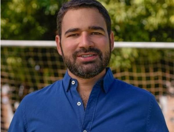 Lucas Meira, presidente do Palmas Futebol Clube