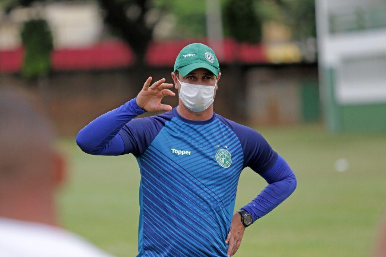 Felipe Conceição tem contrato até o final de 2021 com o Bugre. Foto: Thomaz Marostegan/Guarani FC