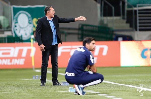 Cruzmaltino empatou contra o Palmeiras nesta semana.. Foto: Rafael Ribeiro/Vasco