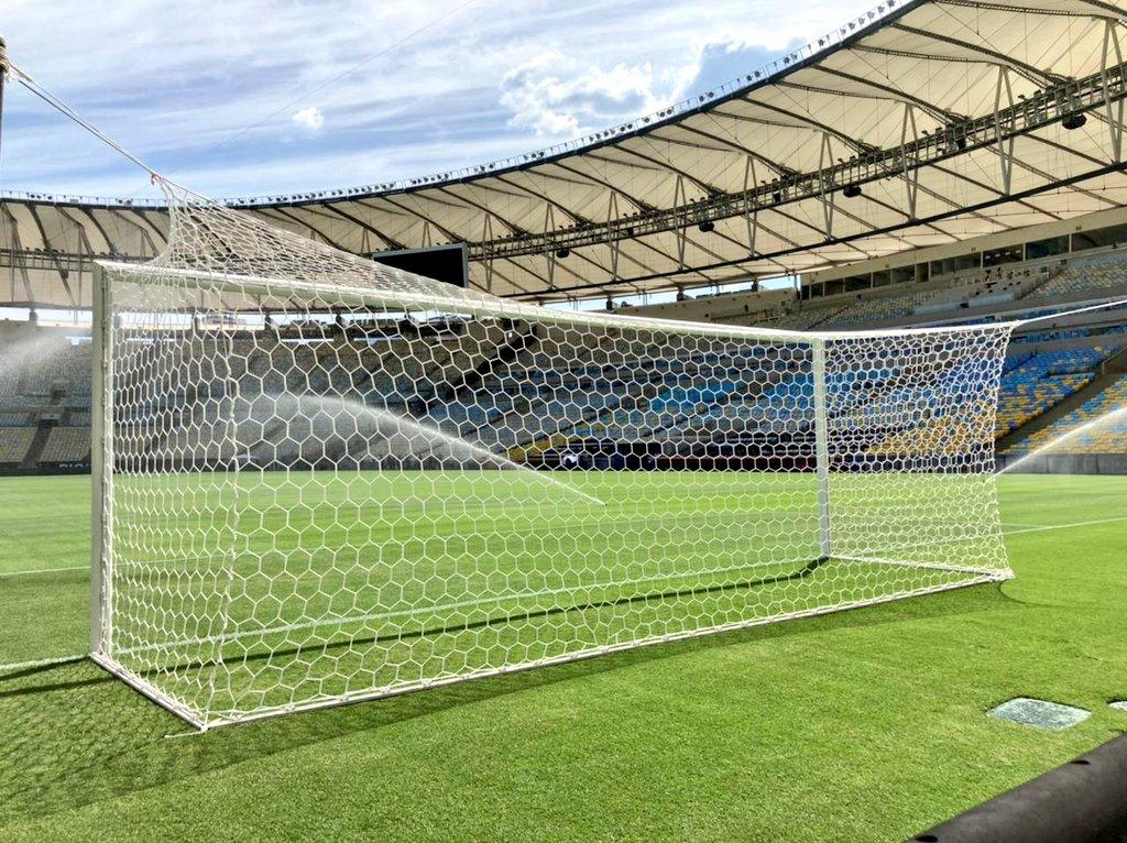 Estádio Mário Filho recebe a grande final da Libertadores neste sábado (30). Foto: Twitter/Divulgação