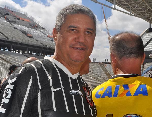 O ex-lateral foi bicampeão paulista pelo Timão. Foto: Marcos Júnior Micheletti/Portal TT