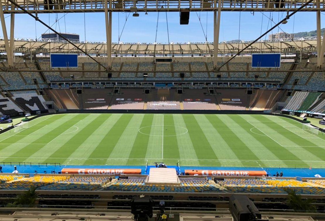 Proposta que será votada na Alerj pode modificar o nome do estádio do Maracanã. Foto: Twitter/Maracanã