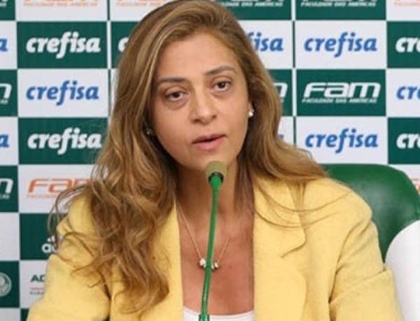 Leila Pereira, presidente da Crefisa. Foto: Cesar Greco/Ag. Palmeiras