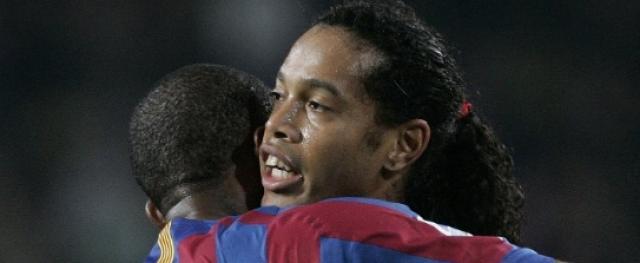 Pelo clube catalão, os dois jogadores conquistaram seis títulos em quatro temporadas