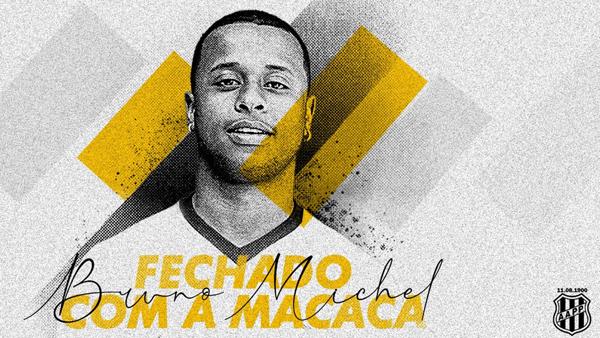 Meia jogou no Galo e Figueirense na última temporada. Imagem: Divulgação/Ponte Preta