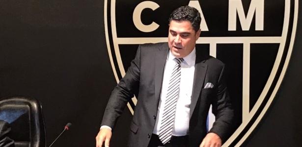 Sérgio Sette Câmara sofreu com protestos da torcida do Atlético-MG nos últimos dias