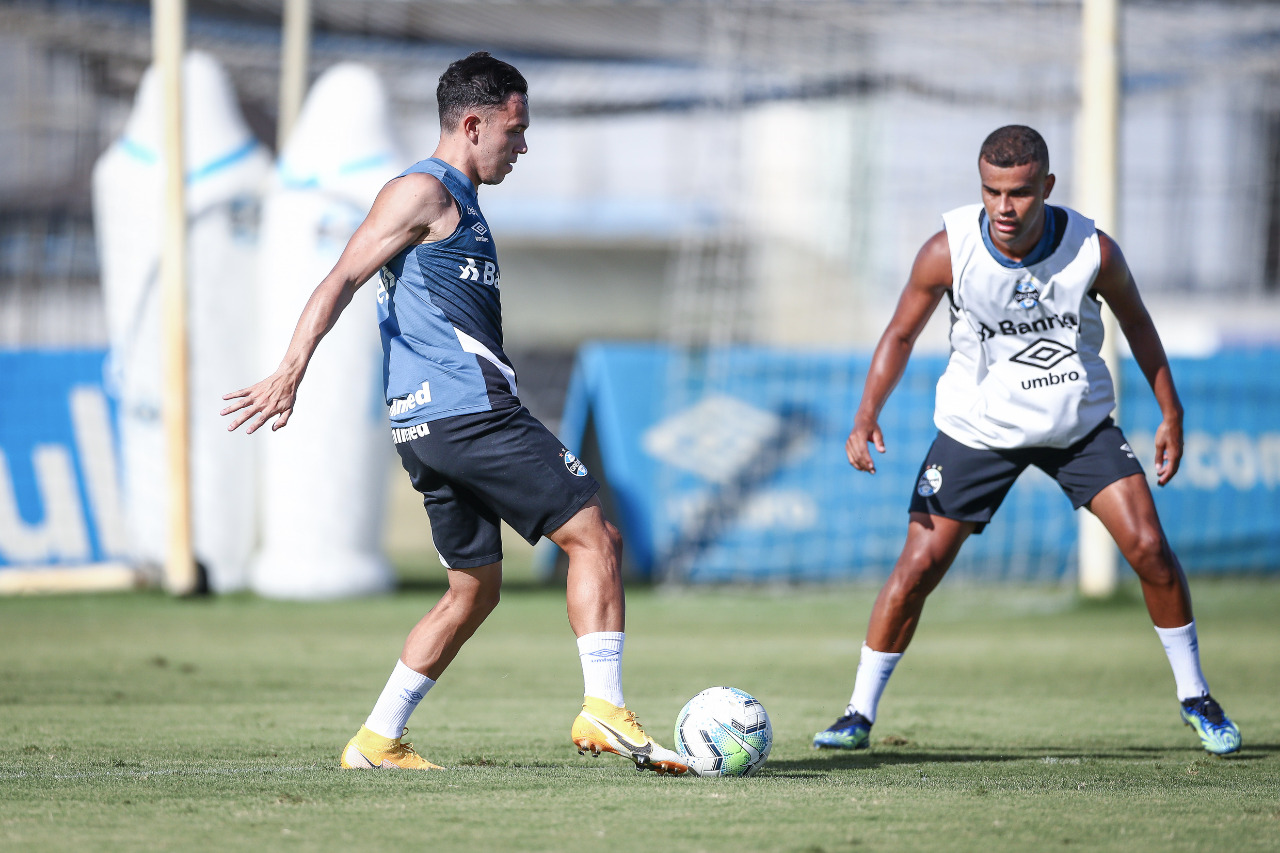 Equipe gaúcha também está na final da Copa do Brasil. Fotos: Lucas Uebel / Grêmio FBPA
