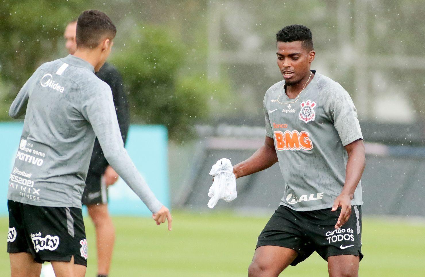 Jemerson se recuperou se lesão no joelho e volta ao time do Corinthians. Foto: Rodrigo Coca/Ag Corinthians