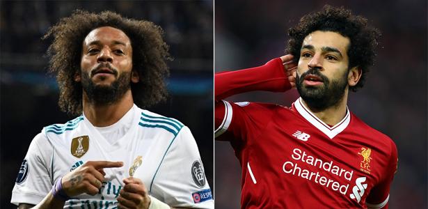Marcelo e Salah podem brigar pela Bola de Ouro
